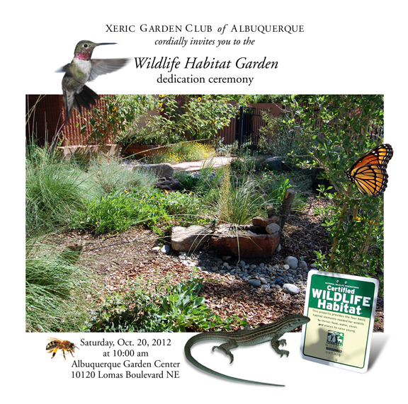 May, 2012: The Xeric Garden Club Of Albuquerque Is Very Excited To Announce  That The Clubu0027s Display Garden At The Albuquerque Garden Center, ...